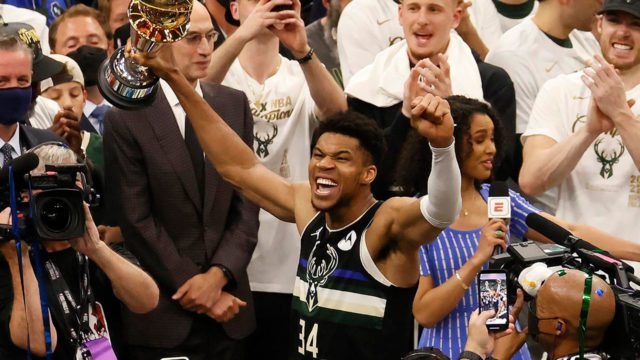 Esto es lo que podría ganar Antetokounmpo, ahora que tiene un título de la NBA