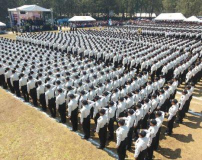 PNC apresura graduación de más policías para 2021