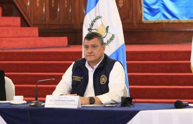 El vicepresidente Guillermo Castillo participa en la segunda reunión ordinaria del Consejo Nacional de Ciencia y Tecnología. (Foto Prensa Libre: Vicepresidencia de Guatemala)