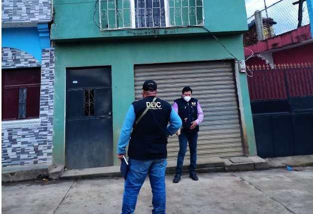 Uno de los operativos que realizó el MP y la PNC en Huehuetenango. (Foto Prensa Libre: MP)