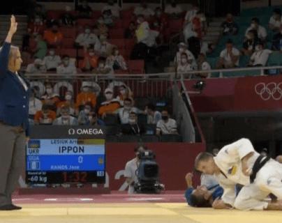 José Ramos de judo. Foto Prensa Libre (ACD)
