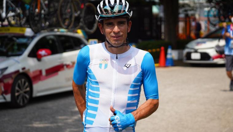 Manuel Rodas recorrió más de 180 kilómetros. Foto Prensa Libre (COG)