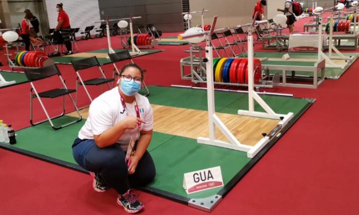 ¡Scarleth Ucelo ya entrena en Japón! La atleta nacional se prepara para su debut en los Juegos Olímpicos de Tokio 2020