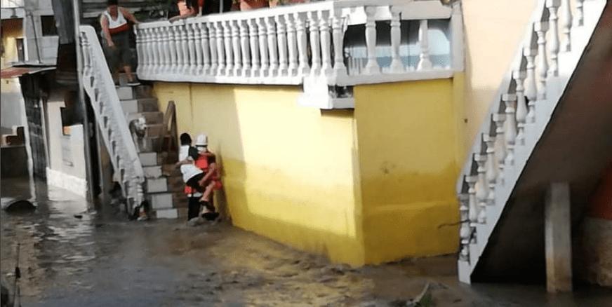 Árboles caídos y personas atrapadas por crecida se reportan por la lluvia de las últimas horas