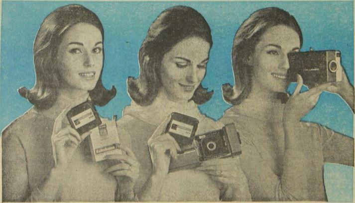 Las cámaras de foto y cine eran tecnología presente en la década de 1960.  (Foto Prensa Libre: Hemeroteca)