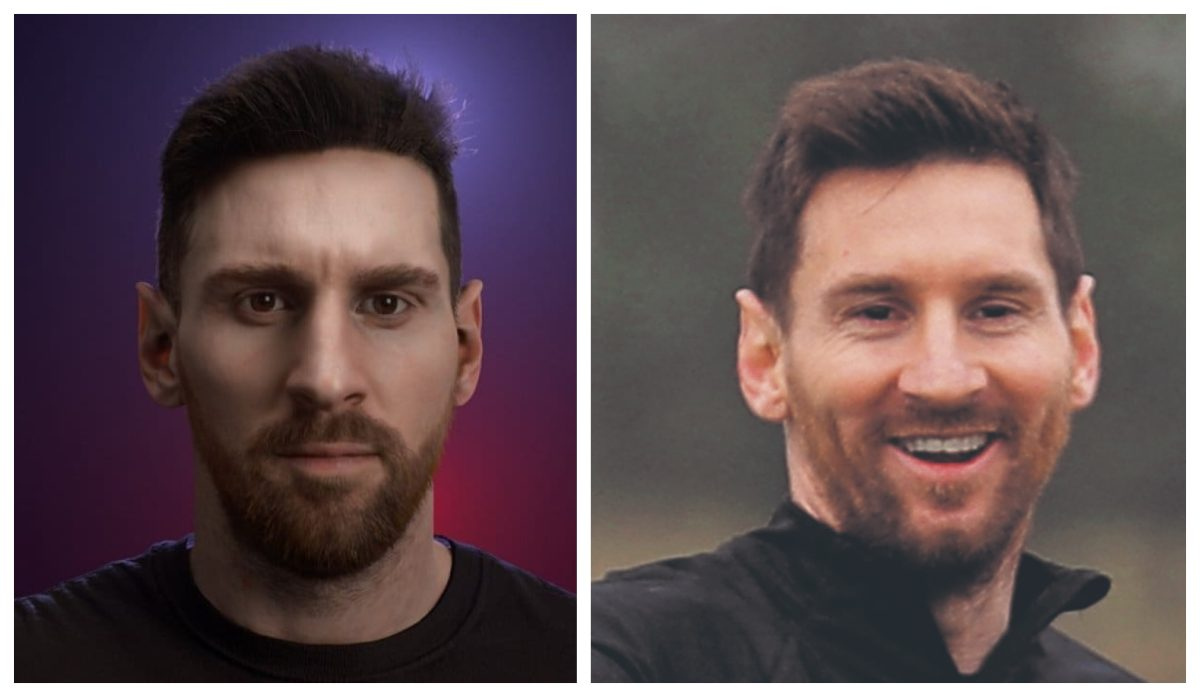 El impresionante parecido del rostro de Lionel Messi en la nueva edición de Pro Evolution Soccer