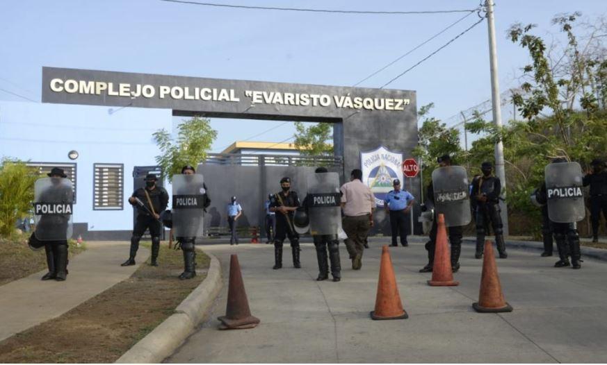 En este recinto guardan prisión preventiva varios opositores,  en Nicaragua. Foto: La Prensa De Nicaragua