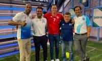 Paulo Wanchope, Carlos Pavón, Blas Pérez, Mauricio Cienfuegos y Carlos Ruiz se encuentran trabajando juntos en Estados Unidos. (Foto Prensa Libre: CarlosPavon9 Instragram)