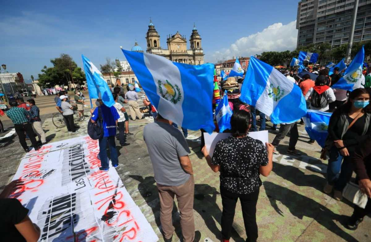 Alejandro Giammattei anuncia que implementará estado de Prevención en todo Guatemala por protestas en su contra