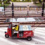 Desarrollan el primer tuk tuk solar-eléctrico en Guatemala