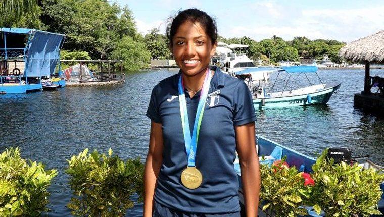 En el Ciclo Olímpico actual, Yulissa López  logró tres medallas de oro y dos de plata en los Juegos Centroamericanos de Managua, en 2017; un bronce y un cuarto lugar en los Juegos Centroamericanos y del Caribe de Barranquilla 2018. Foto Prensa Libre: Hemeroteca PL.