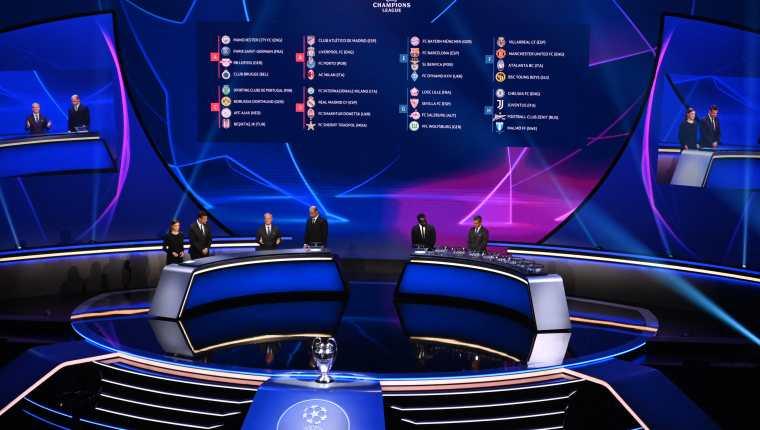 La Uefa definió este jueves 26 de agosto la fase de grupos de la Champions League 2021-2022. Foto Prensa Libre: AFP.