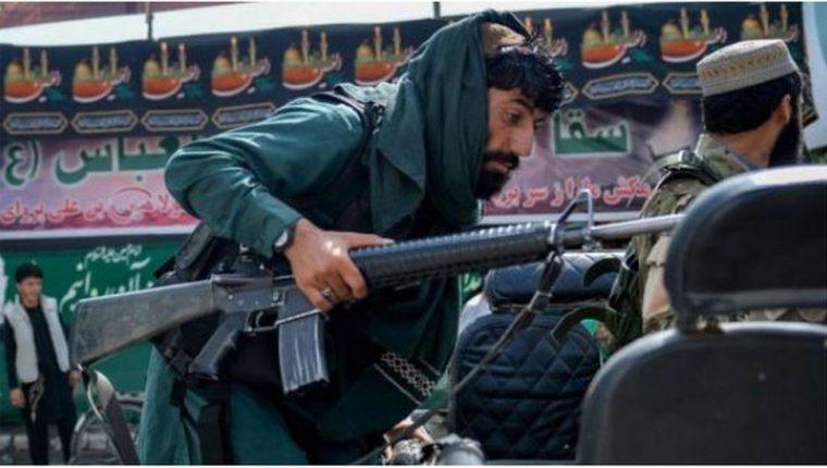 Los talibanes tomaron rápidamente el control de Afganistán.