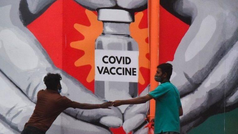 Cerca del 13% de la población ha recibido el ciclo completo de vacunas en India.