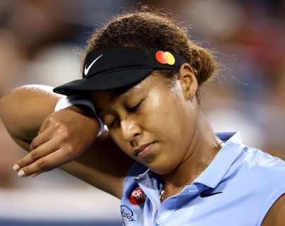 Japonesa Naomi Osaka eliminada en tercera ronda de Cincinnati