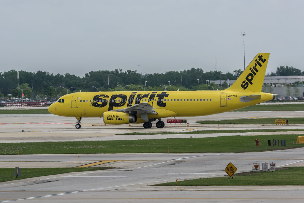 Spirit Airlines cancela vuelos en Estados Unidos por tercer día consecutivo