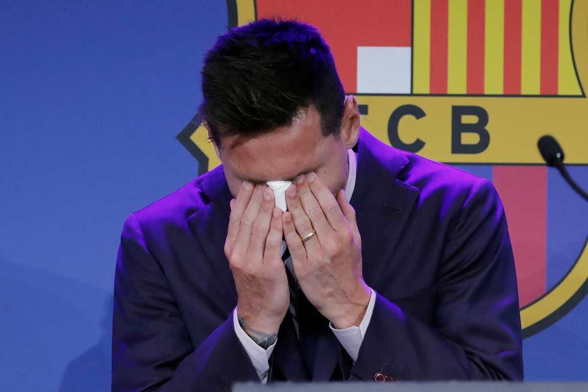 VIDEO: El momento más emotivo de la despedida de Messi del FC Barcelona