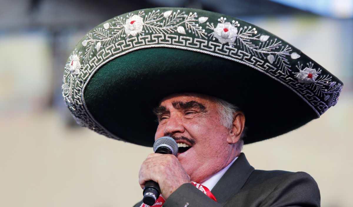 El conmovedor mensaje de Vicente Fernández durante su concierto de despedida en el que habló de su muerte