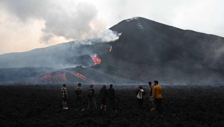 Entidades advierten a la población no acercarse a áreas riesgosas del Volcán de Pacaya. (Foto: Hemeroteca PL)