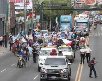 Organizaciones convocan a manifestar contra Giammattei y Porras este jueves y viernes