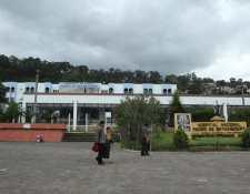 Hospital de Antigua Guatemala está saturado por pacientes con covid-19. (Foto Prensa Libre: Hemeroteca PL)