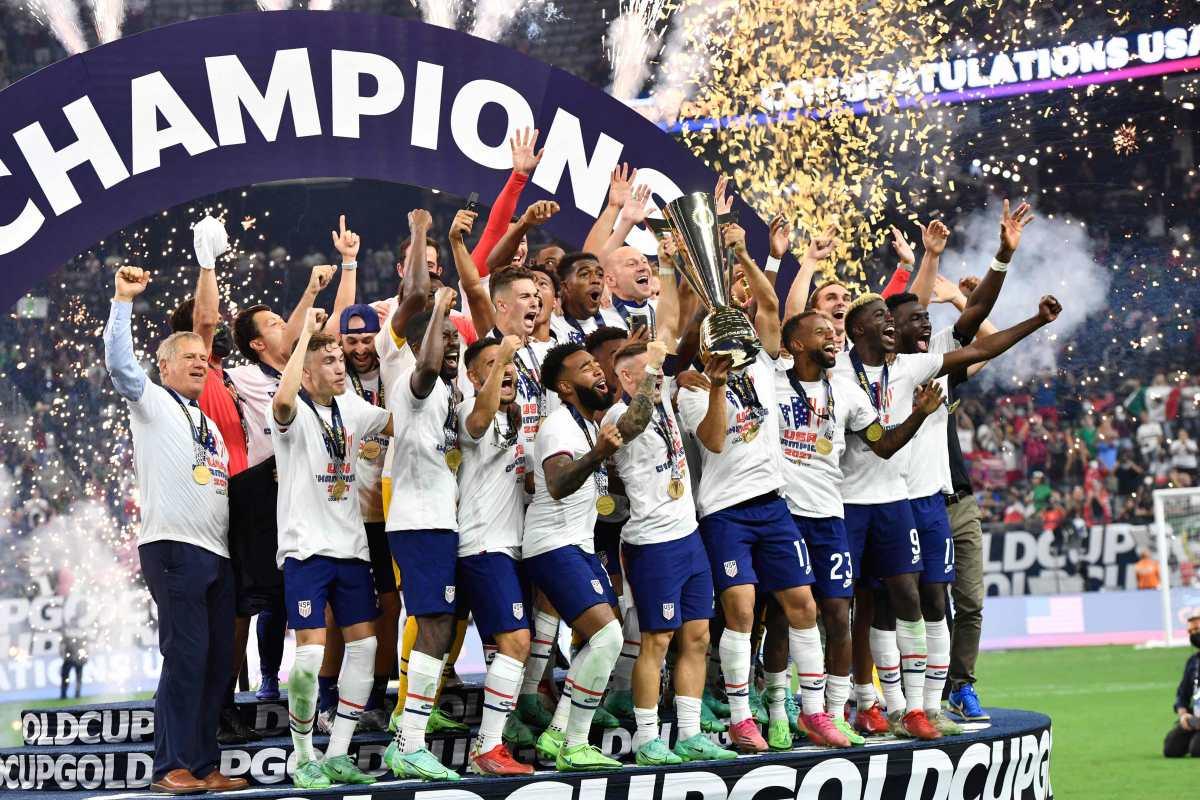 Estados Unidos le gana otra final a México y alza la Copa Oro-2021