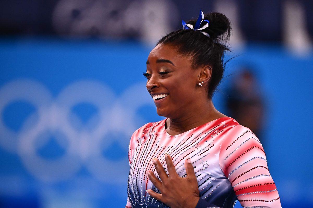 Un bronce balsámico para Simone Biles en los Juegos Olímpicos de Tokio 2020