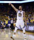 Stephen Curry continuará con los Warriors. (Foto Prensa Libre: AFP)