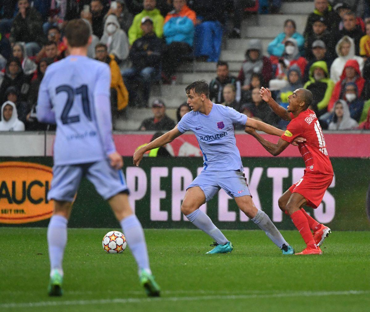 El Barsa cae 2-1 ante el Salzburgo y significa su primera derrota de la pretemporada