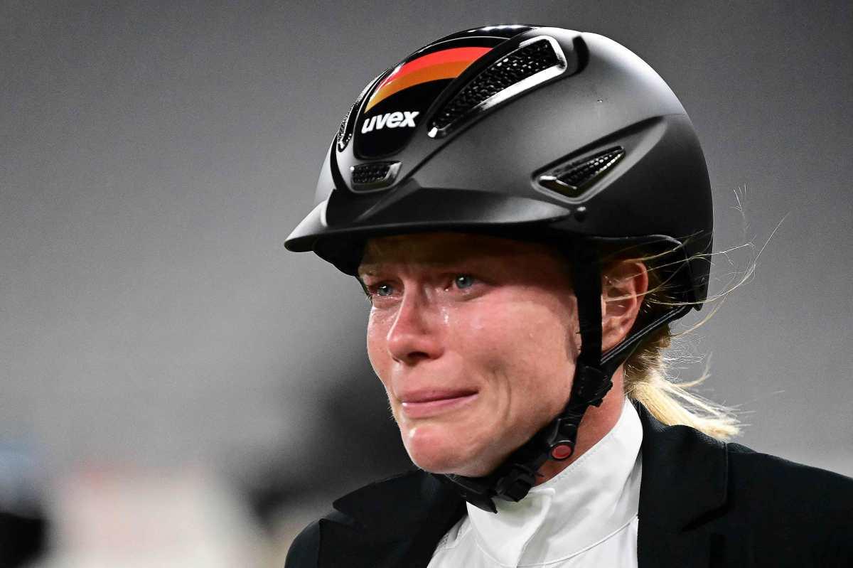 Lágrimas y violencia: la entrenadora de pentatlón expulsada de Tokio 2020 por golpear a un caballo