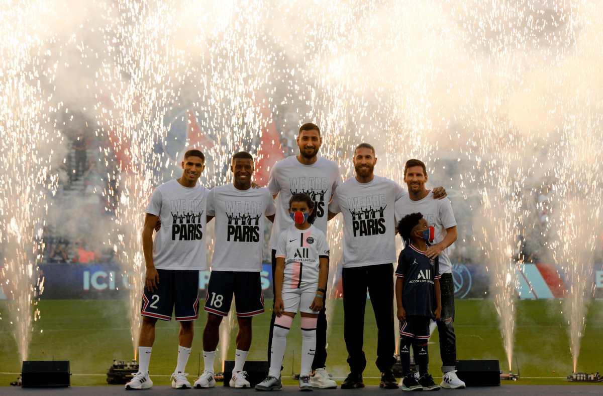 VIDEO   Mira la presentación de Messi, Ramos, Donnaruma, Wijnaldum y Achraf en el Parque de los Príncipes