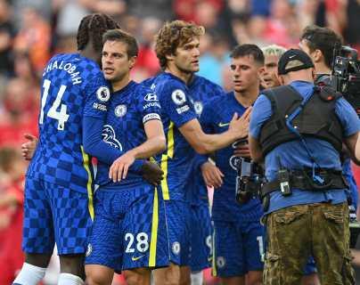 El Chelsea sobrevive en Anfield (1-1) ante el Liverpool