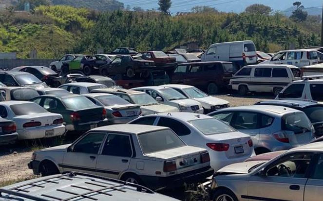 Vehículos y motos para desarme o chatarra involucrados en hechos de tránsito serán subastados por Emetra