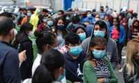 Guatemala registra en agosto 2021 un repunte de casos de coronavirus, por lo que autoridades piden mantener la prevención. (Foto Prensa Libre: Esbin García)
