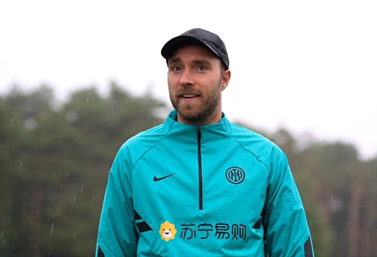 Christian Eriksen regresa al centro deportivo del Inter de Milán para seguir con su recuperación