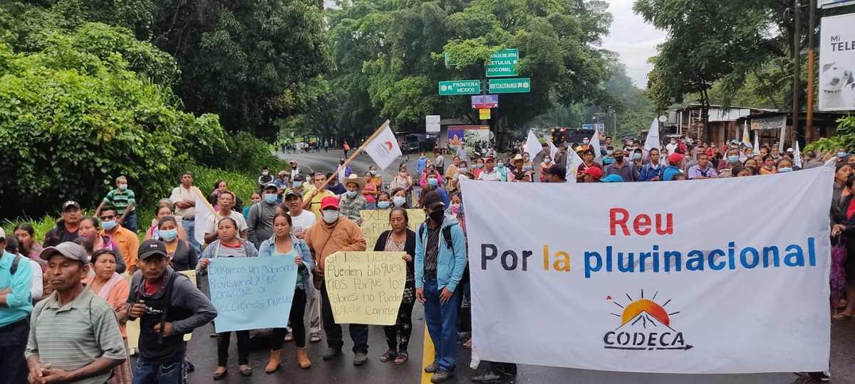 Manifestaciones y bloqueos: estos son los puntos afectados este lunes 9 de agosto