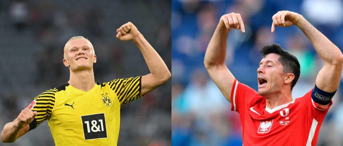 """Supercopa de Alemania: Haaland vs. Lewandowski, el mejor homenaje a Gerd """"el Torpedo"""" Müller"""