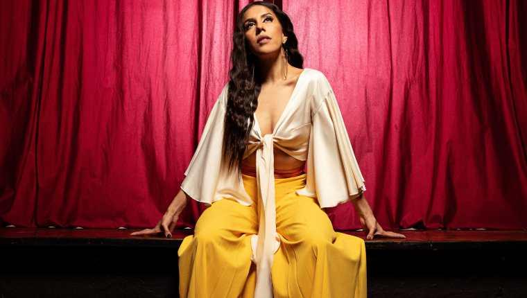 Fabiola Roudha trabaja en la actualidad en la producción de su nuevo álbum de estudio, cuyo lanzamiento está previsto para 2022. (Foto Prensa Libre: Cortesía Fabiola Roudha)