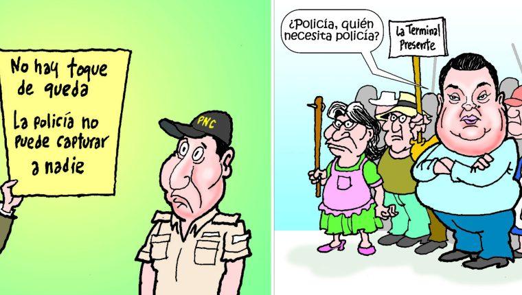 Personajes: Carlos Barreda y Allan Rodriguez.