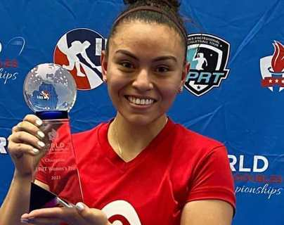 Ana Gabriela Martínez se consagra en el 2021 World Singles and Doubles Open Racquetball Championships