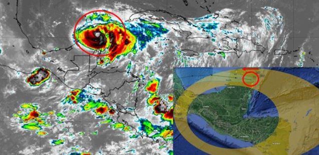 Huracán Grace toca tierras mexicanas y en Guatemala se prevé incremento en la nubosidad y lluvias