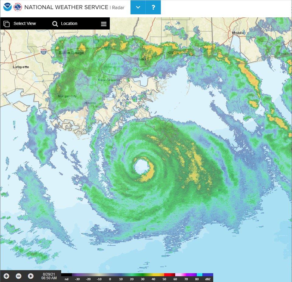 """Trayectoria de Ida: huracán podría dejar """"zonas inhabitables"""" por semanas en la costa de Luisiana"""