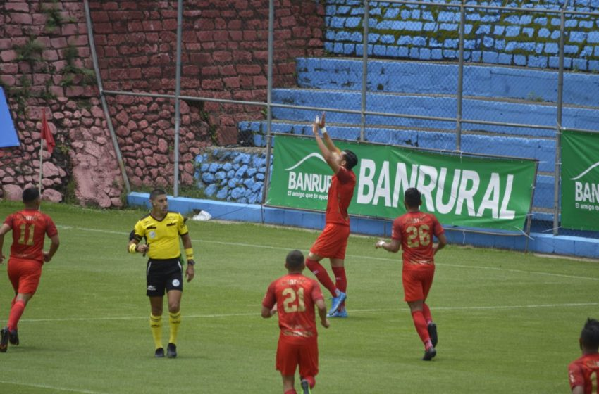 Municipal no logró mantener la ventaja y empató contra Iztapa en El Trébol
