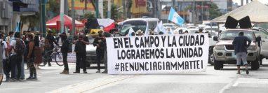 Autoridades Ancestrales de Guatemala convocaron para movilizaciones y manifestaciones en varios puntos del país para el jueves 5 y viernes 6 de agosto. (Foto Prensa Libre: Érick Ávila)