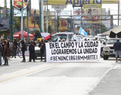 Comienzan manifestaciones y movilizaciones convocadas por autoridades indígenas