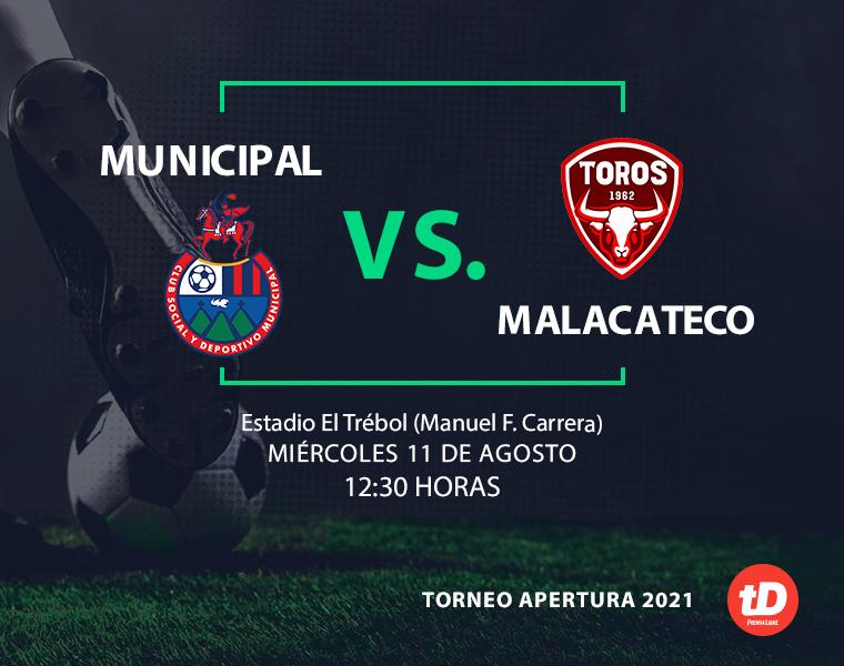 Municipal golea 4-0 a Malacateco con doblete de José Carlos Martínez (Estadísticas)