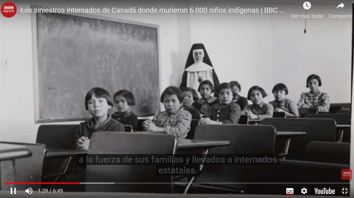 Los siniestros internados de Canadá donde murieron 6.000 niños indígenas