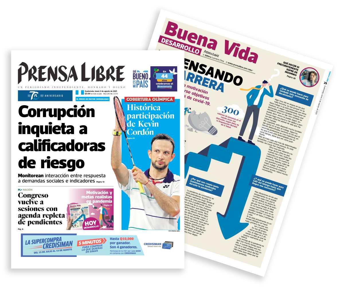Prensa Libre renueva su ejemplar e incluye nueva sección y más páginas