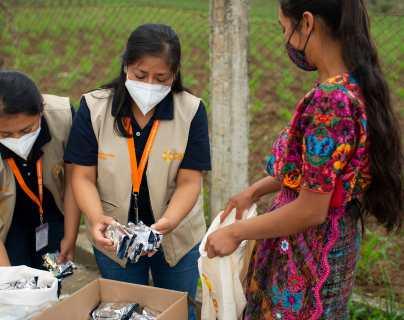 Alianza innovadora para mejorar la vida de los niños y niñas desnutridos en Guatemala