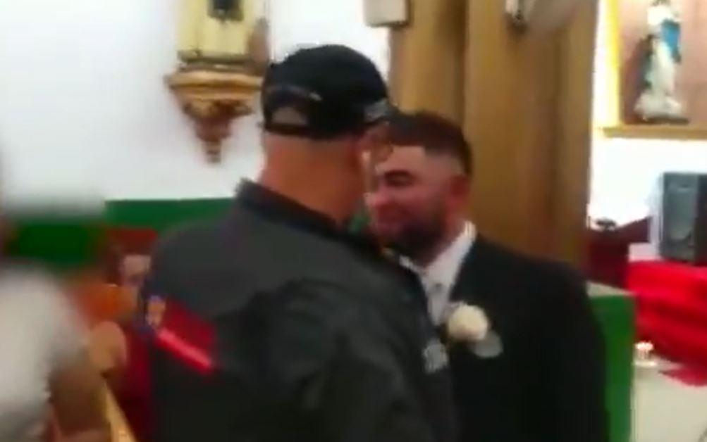 """Rumbo al altar y a punto de casarse: Video muestra cómo fue la captura de """"Machete"""", líder logístico del """"Clan del Golfo"""""""